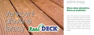 Katalog teras Real Deck on-line